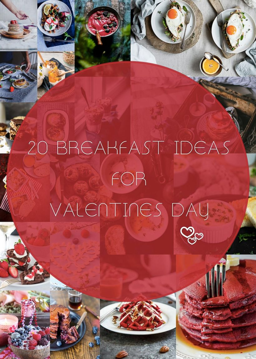 20 Breakfast Ideas For Valentines Day | Playful Cooking