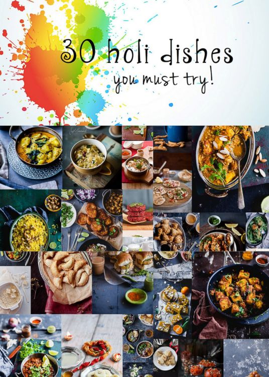 30 Holi Dishes | Playful Cooking