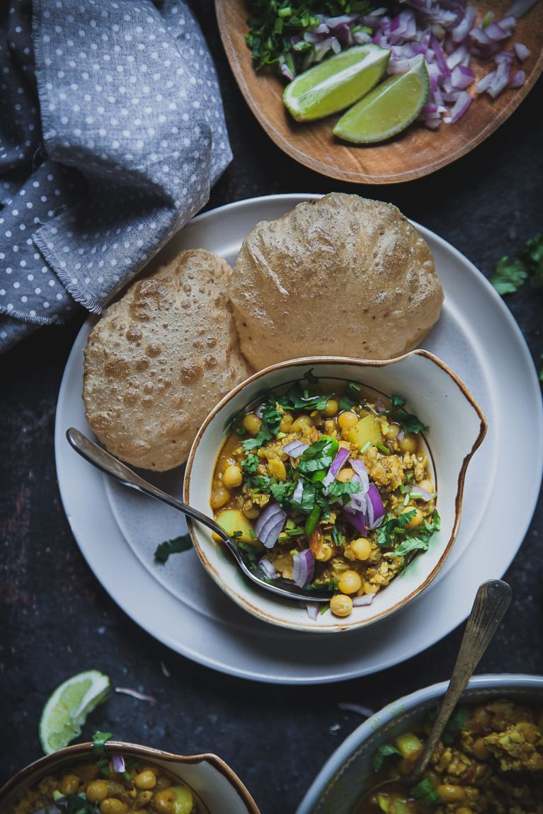 Chicken Ghungni (Yellow Peas And Mined Chicken Stew) And Announcing the Cookbook Cover | Playful Cooking