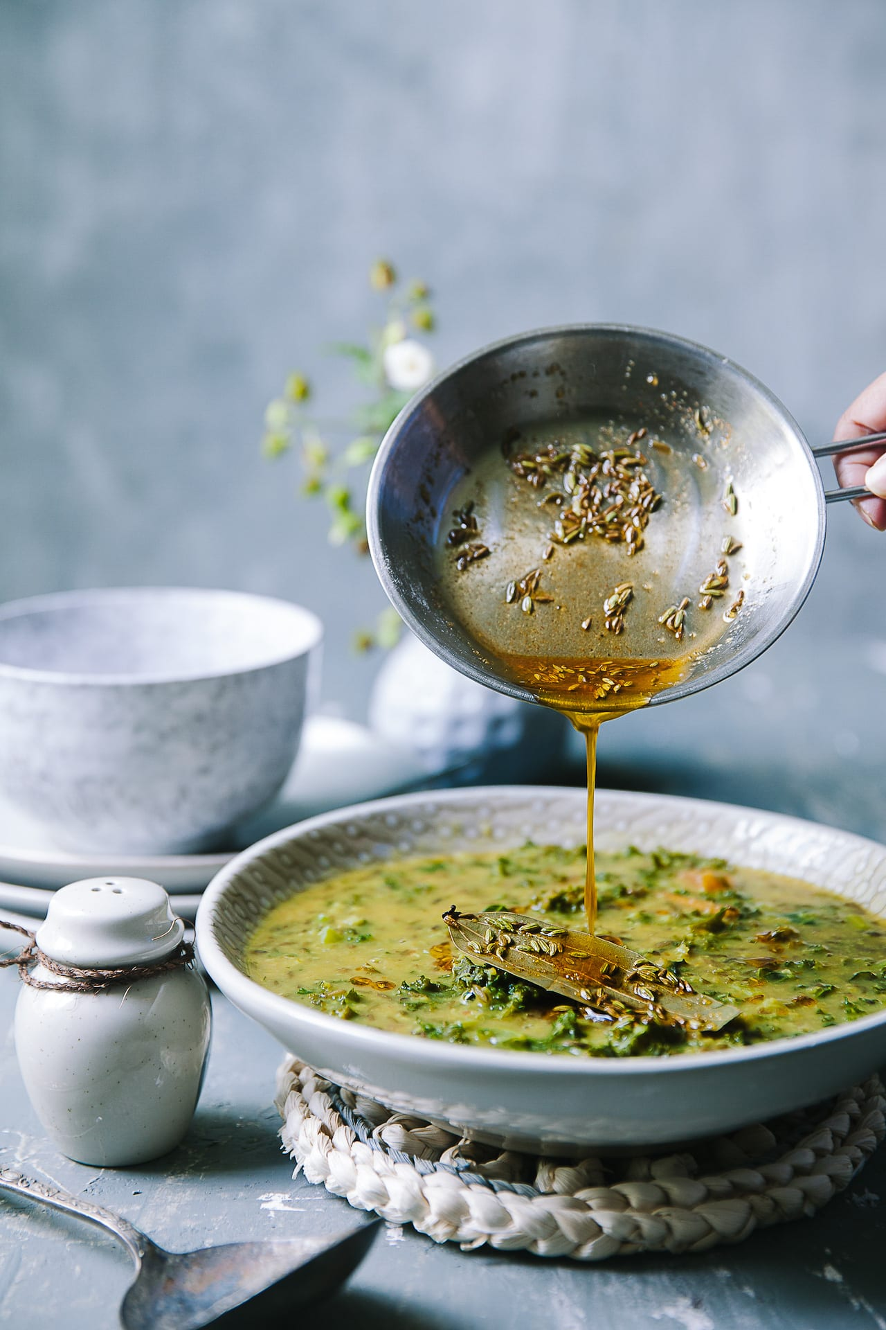 Mung Bean And Kale Daal | Playful Cooking