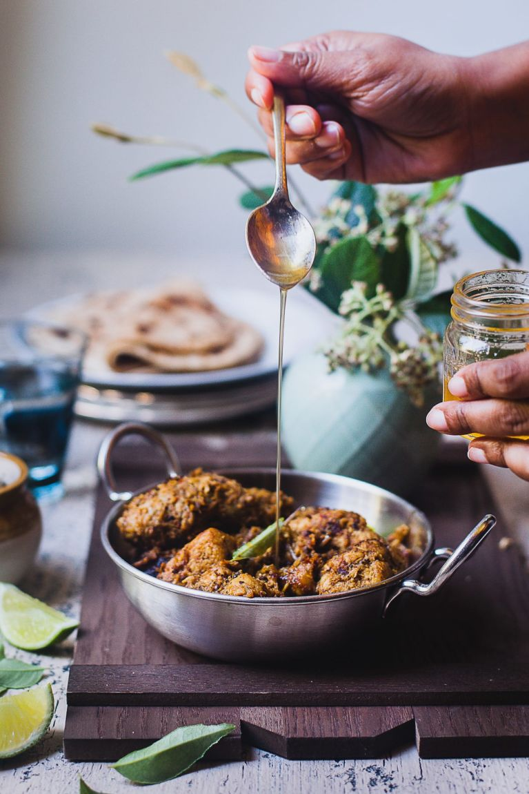 Ghee Drizzled | Playful Cooking #chicken #stirfried #indian