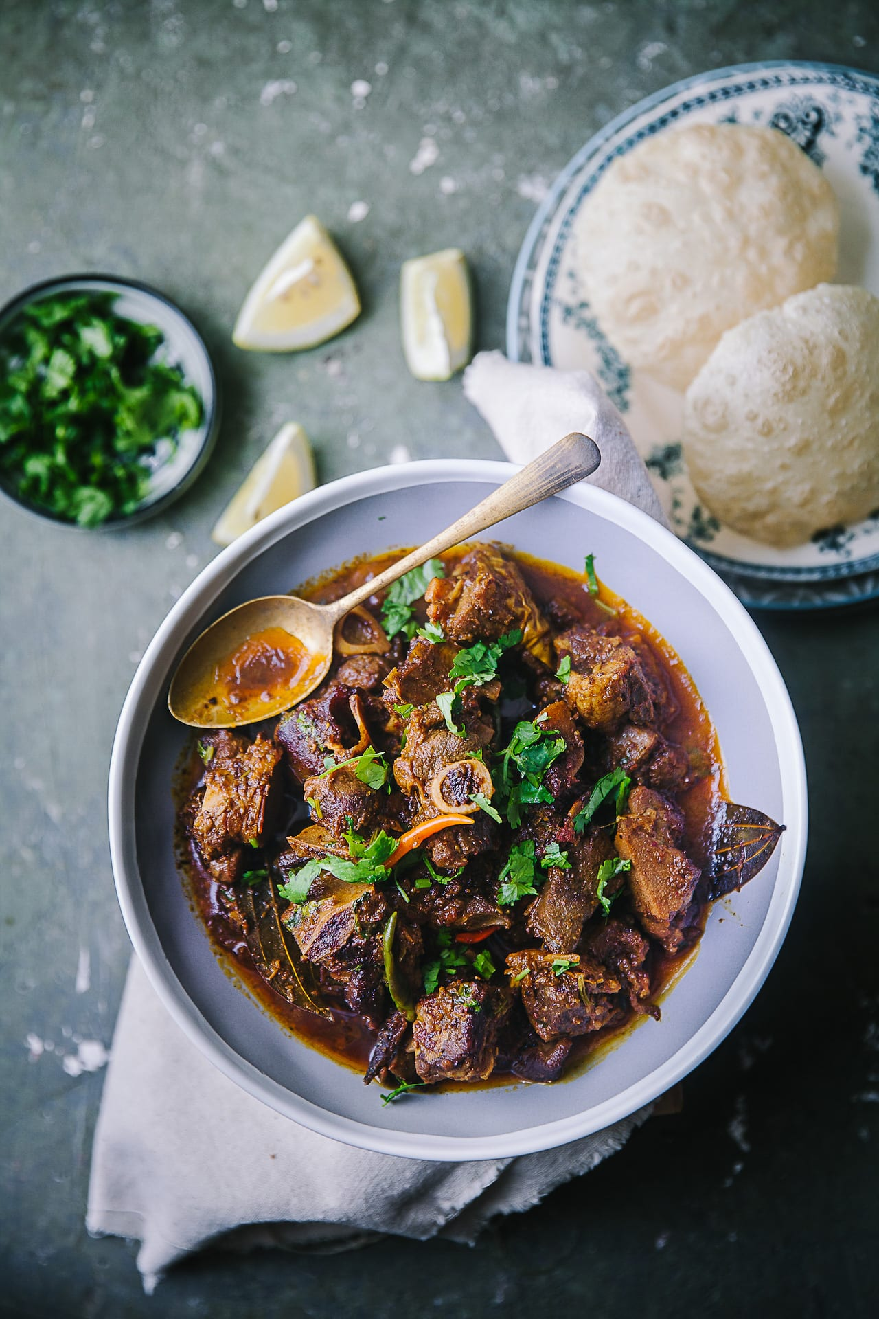 Spicy Goat Curry (Kosha Mangsho)