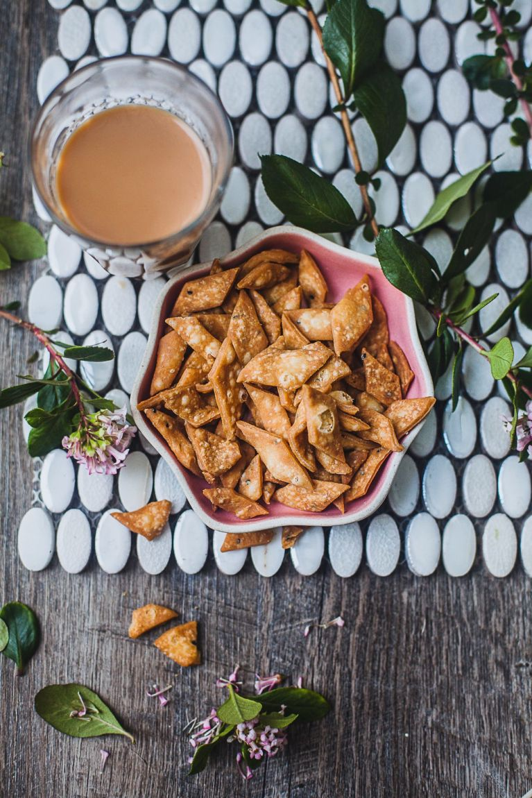 Indian Crunchy Savory Crackers – Shaped Three Simple Ways! | Playful Cooking