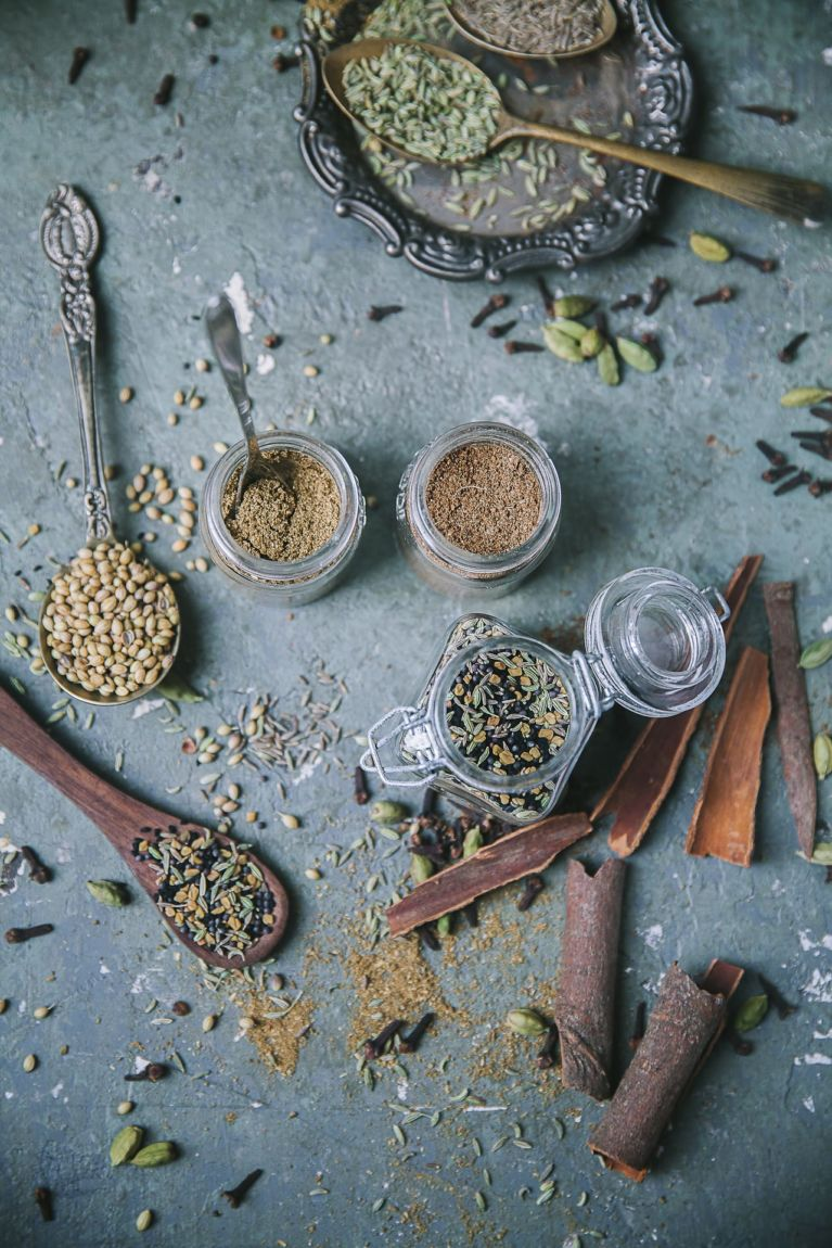 Most common spices used in Bengali cooking