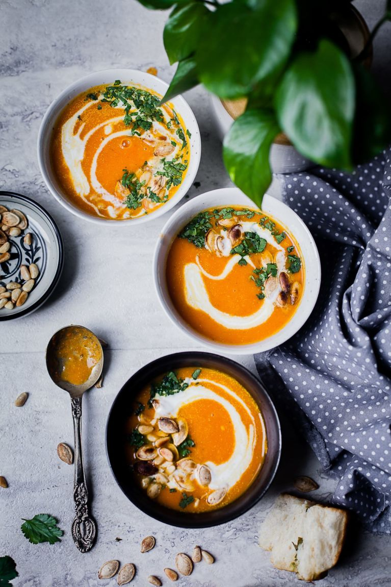 Soothing Winter Soup| Playful Cooking #soup #carrot #ginger #5ingredients #winterfood
