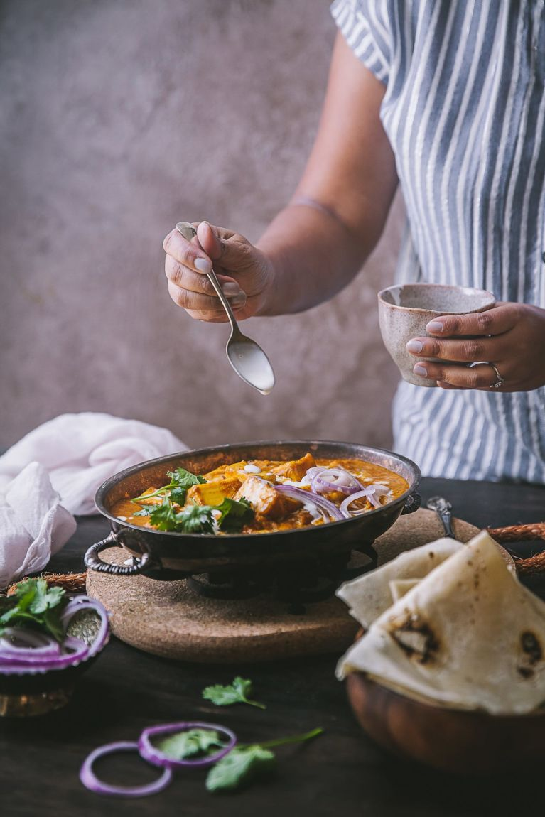 Butter Paneer Masala, quick and easy Indian Restaurant Style #playfulcooking #foodphotography #paneer #buttermasala #indianfood #photography #weeknightmeal #vegetarian