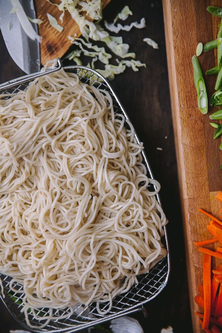 Vegetable Chow Mein 4