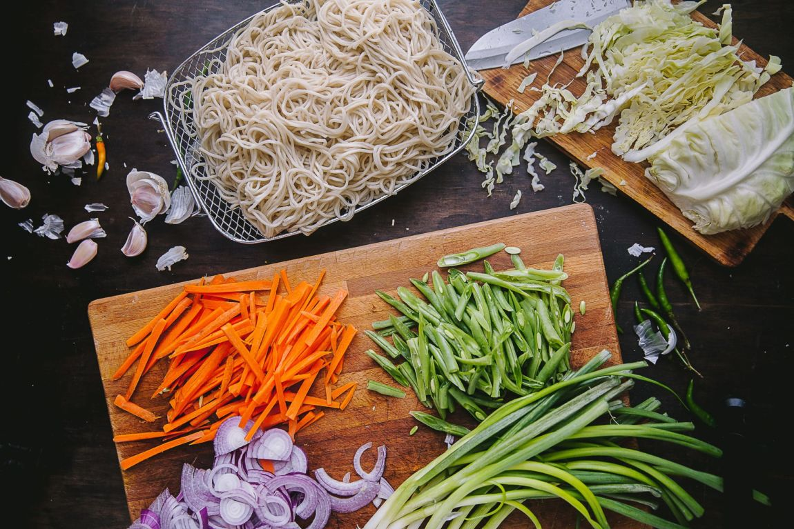Vegetable Chow Mein 3