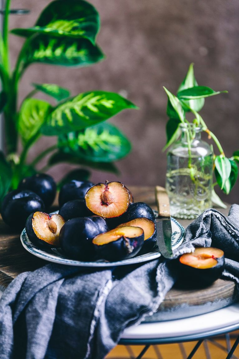 Fresh Plums are beautiful summer fruits!