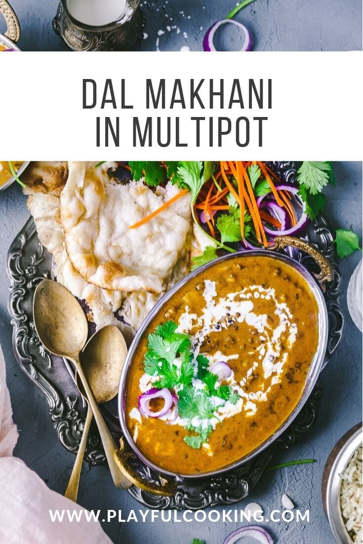 Dal Makhani in Multipot 9