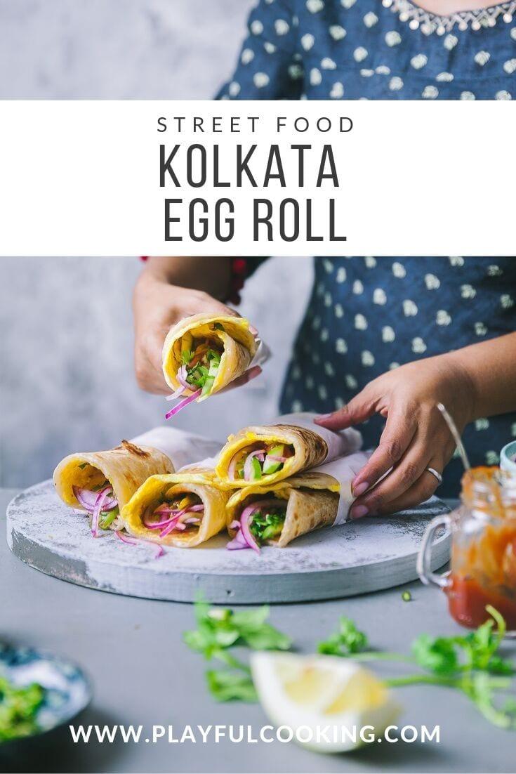 Kolkata Egg Roll 6