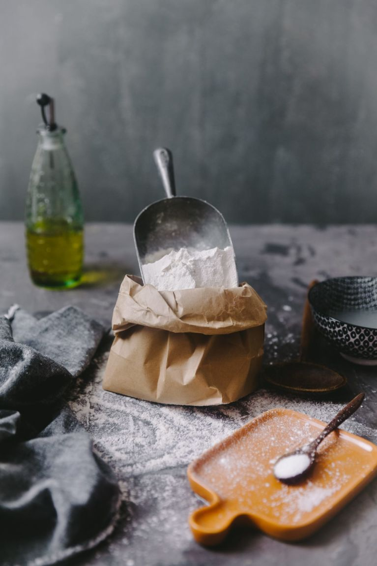 Flour photography   Playful Cooking #bread #baking #food-photography #noknead