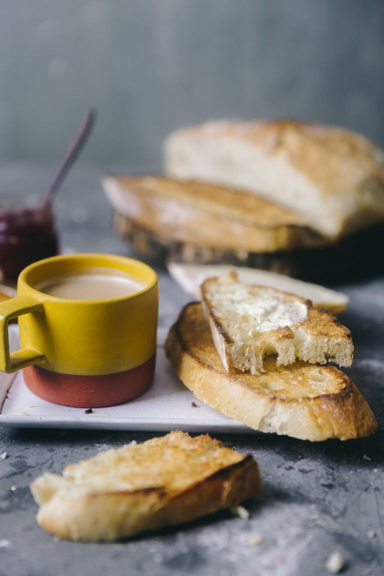 Tea and Bread   Playful Cooking #bread #baking #food-photography #noknead