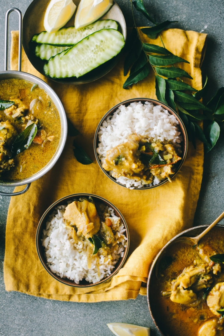 Chicken Curry in Coconut Milk | Playful Cooking #chickencurry #coconutmilk #Indiancurry #foodphotography