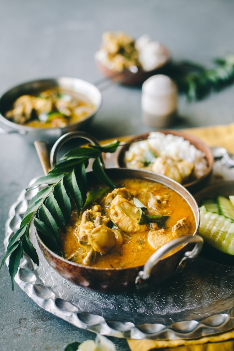 Slow Cooked Indian curry | Playful Cooking #chickencurry #coconutmilk #Indiancurry #foodphotography