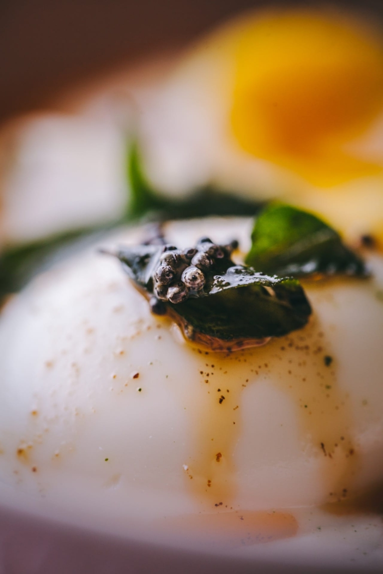Turkish Eggs with Mustard and Curry Leaves 2