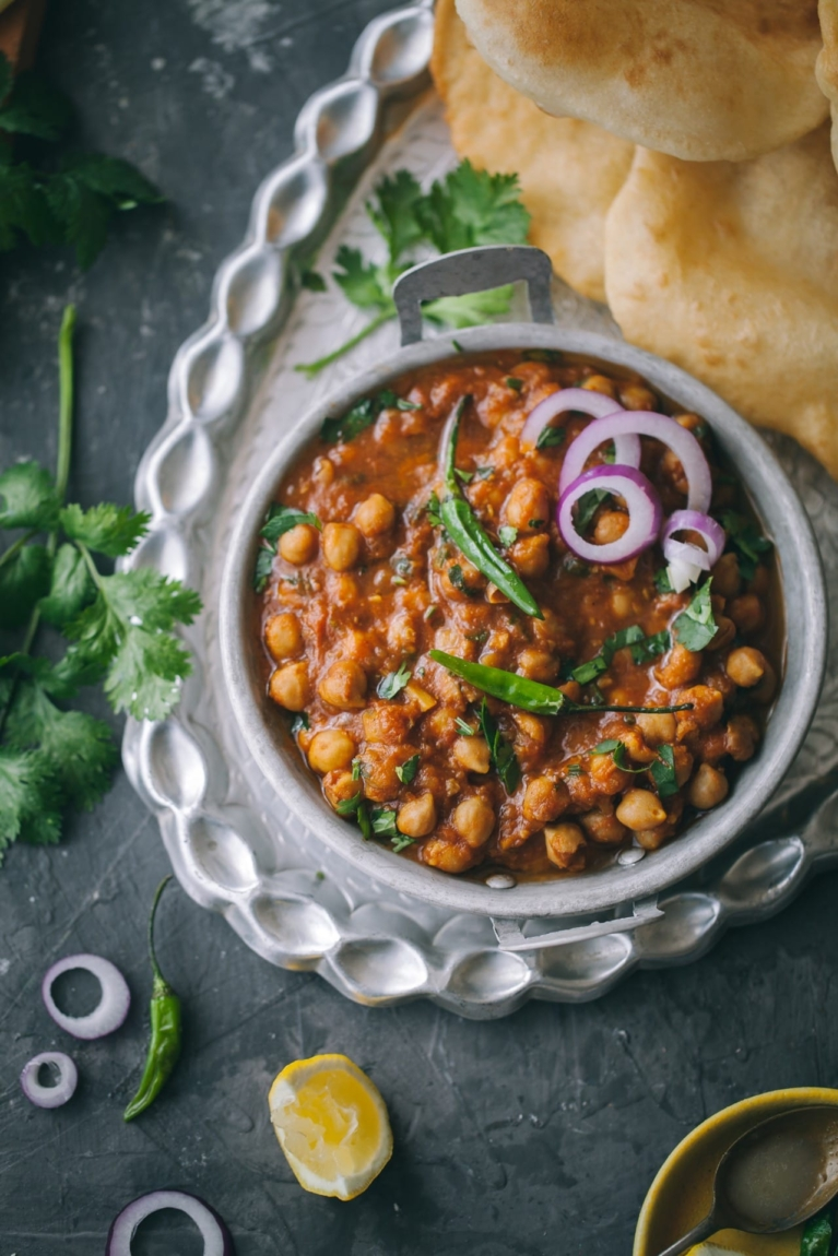 Indian Chickpea stew | Playful Cooking #chickpea #multipot #instapot #stew #foodphotography