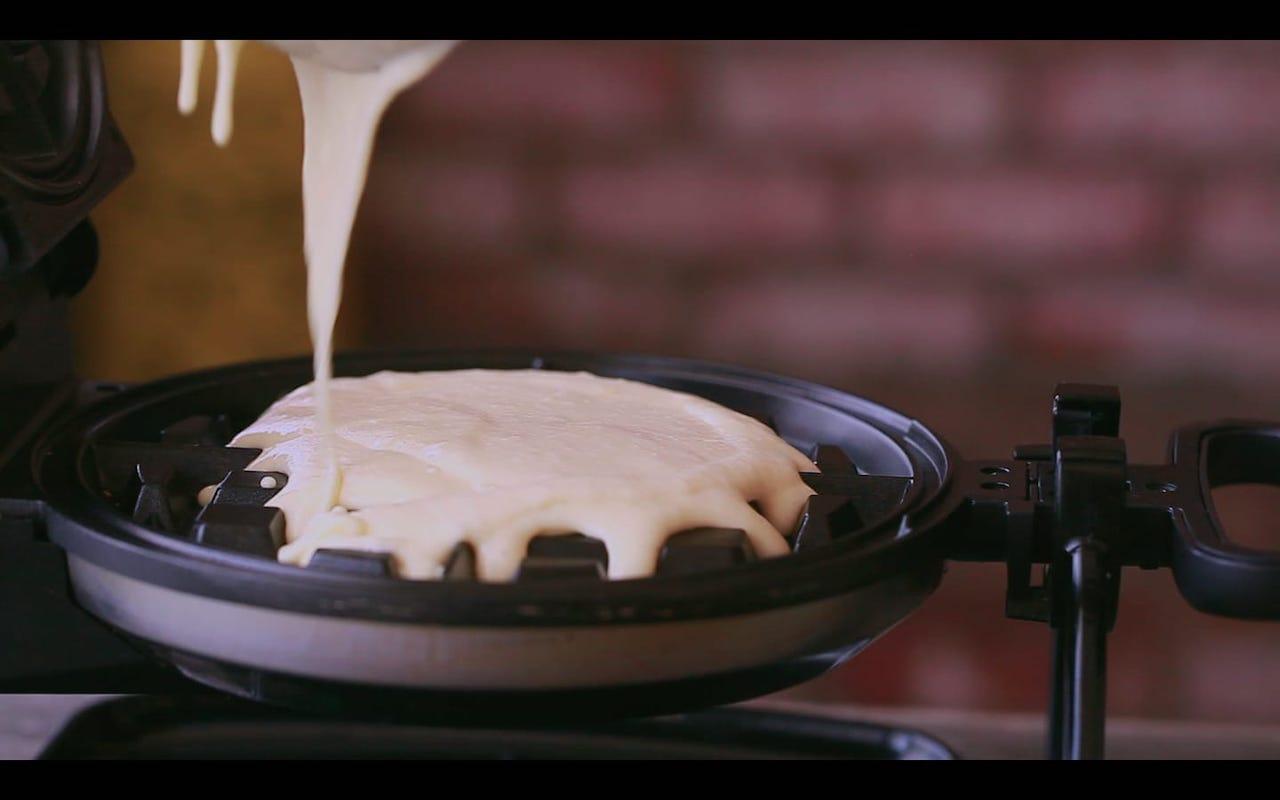 Belgian Waffles Restaurant Style 12