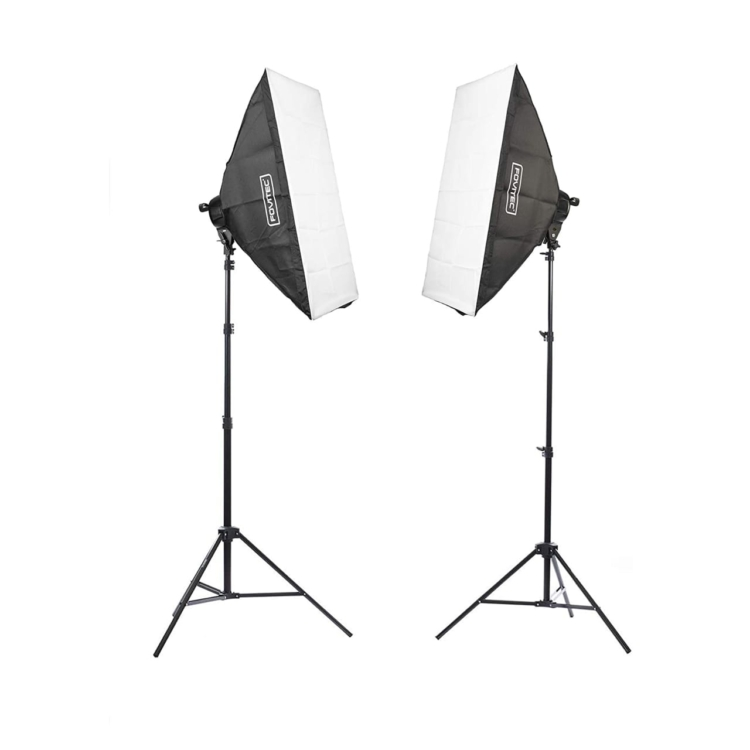 Fovitec 2-Light Stand