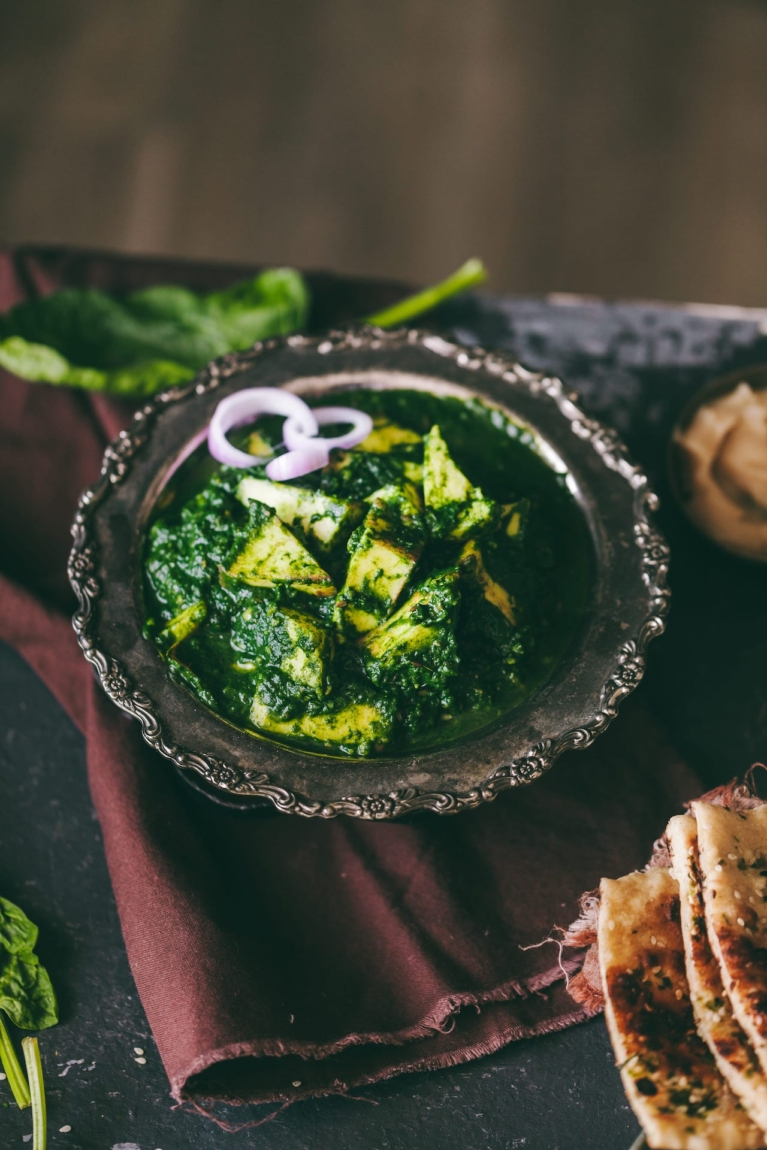 Palak Paneer - Easy and healthy Indian Cheese Curry