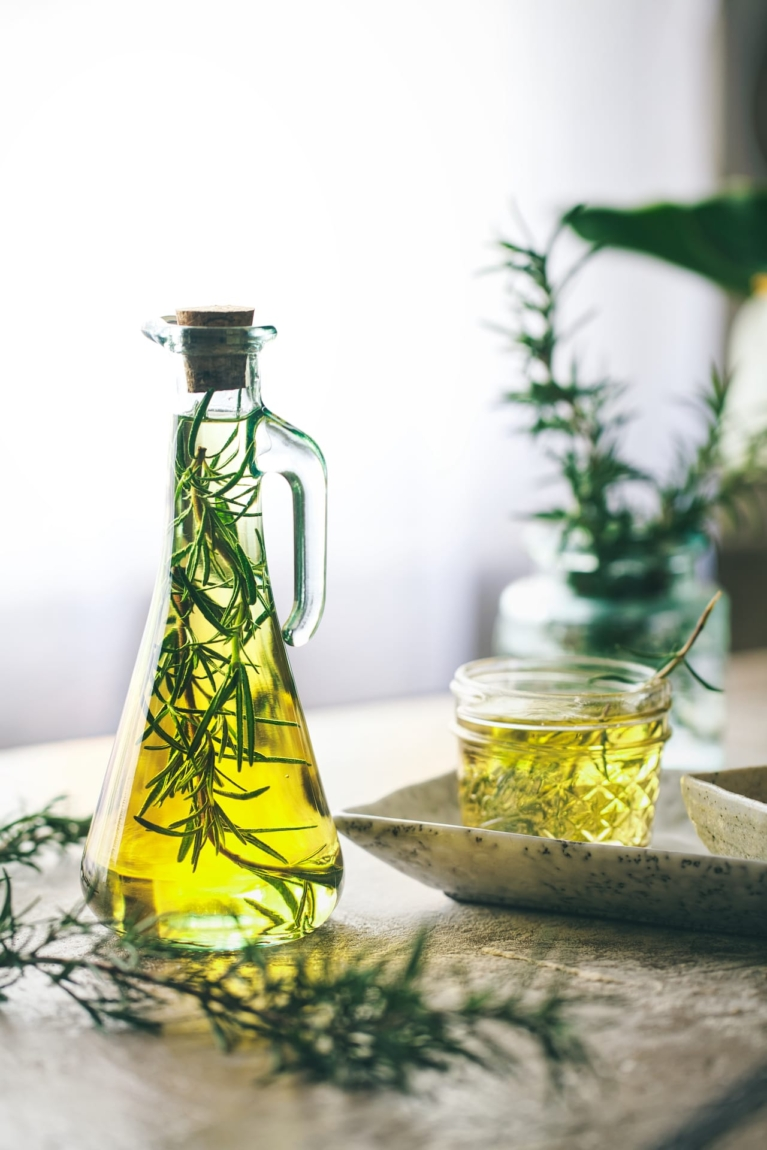 Rosemary and Garlic Olive Oil 4