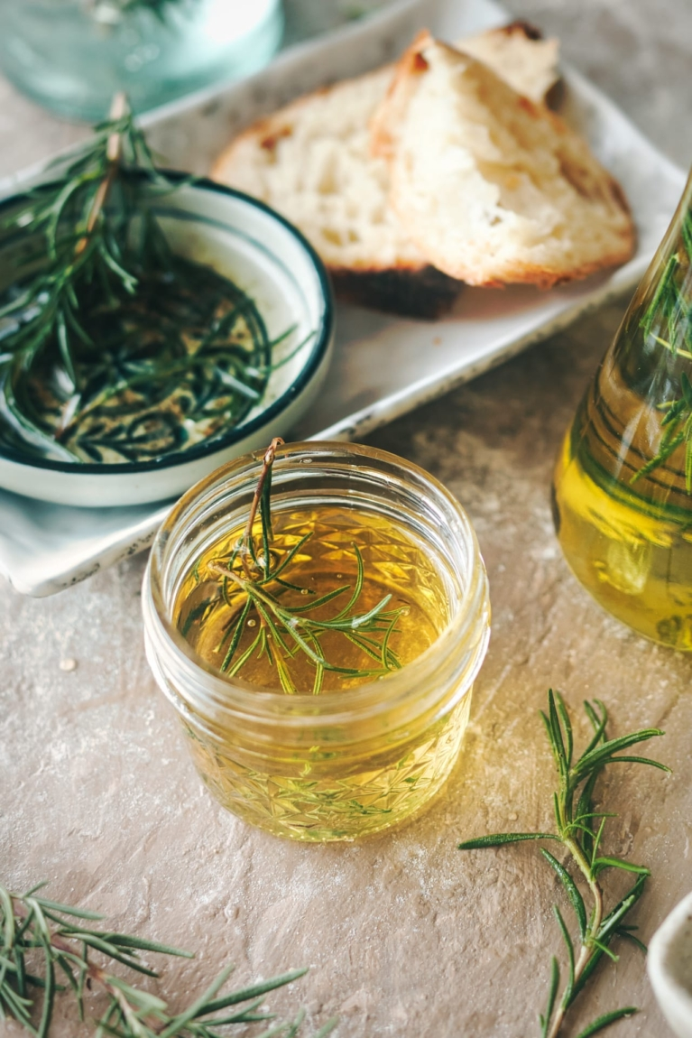 Rosemary and Garlic Olive Oil 3