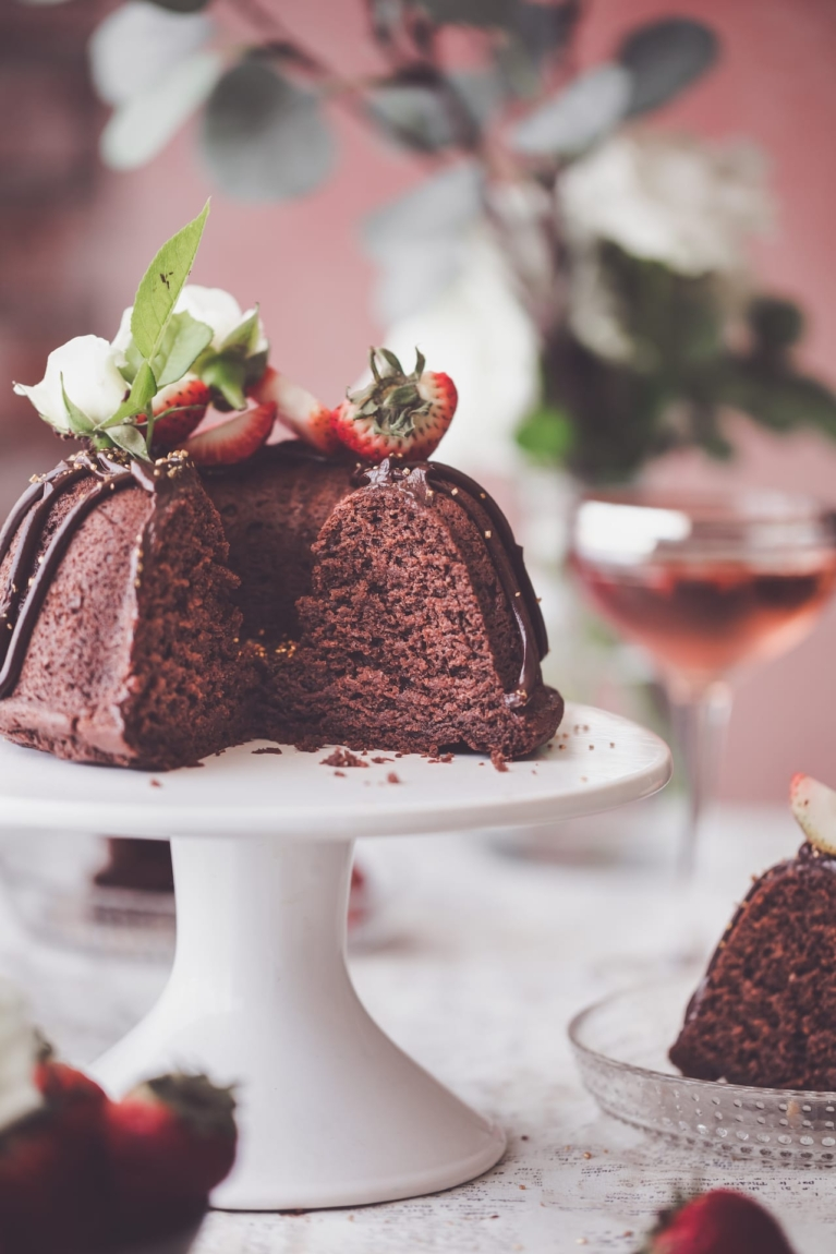 Easy Cocoa powder Cake with no egg and no butter. Super moist and easy recipe