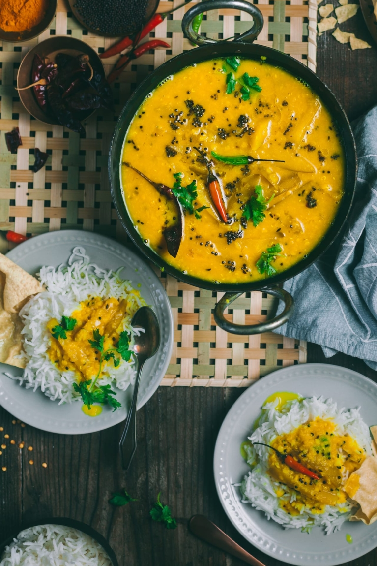 Aam Daal - Quinessential Bengali Summer Meal