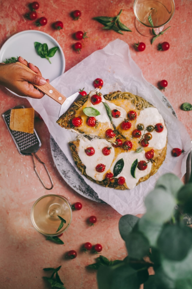 Spaghetti Pizza | 15 minutes meal | Playful Cooking