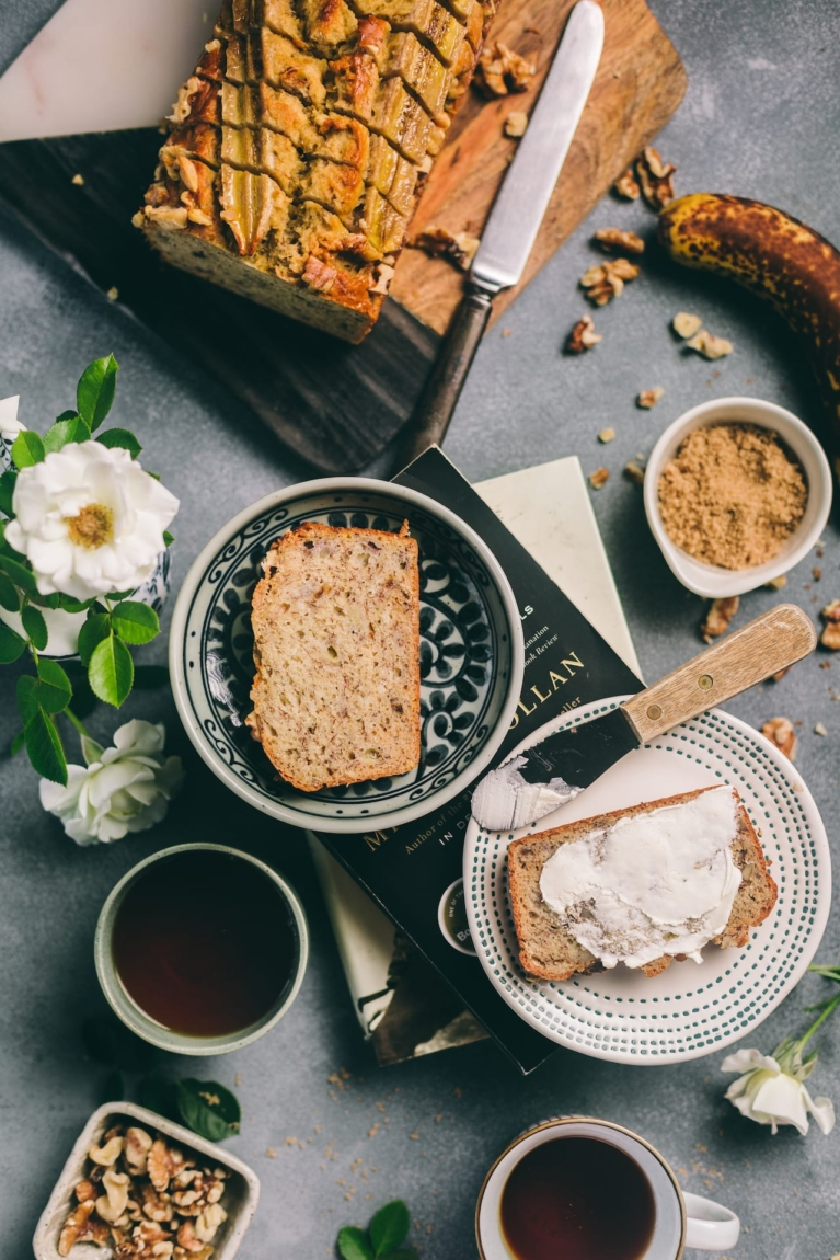 Banana Nut Bread - Recipe Playful Cooking